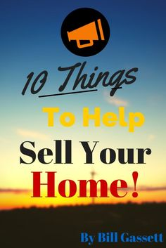 Ten Things to Do Before Selling A Home: http://www.maxrealestateexposure.com/ten-things-to-do-before-selling-a-home/ #realestate