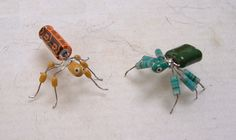 How to turn old computer parts into cute little bugs. Help save the environment at least a little plus make gifts for friends and family