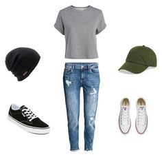"""""""MyStyle • #4"""" by tatiana567 on Polyvore featuring Converse, Vans, BP. and Coal"""