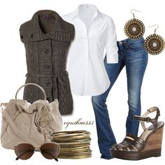 So Simple Fall, created by cynthia335 on Polyvore