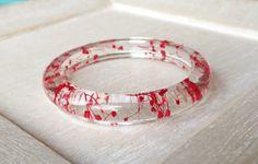 Fleurs séchées de fleur rose bracelet rose fleurs séchées rose
