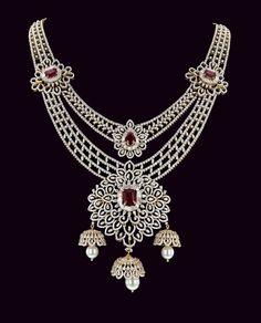 DIAMOND NACKLACE - Necklace sets - Diamond Jewelry Long Diamond Earrings, Diamond Choker, Diamond Bracelets, Diamond Jewelry, Stylish Jewelry, Jewelry Sets, Bridal Jewelry, Beaded Jewelry, Necklace Drawing