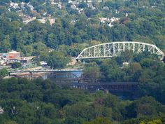 I grew up in Phillipsburg NJ on the right, but have lived in Easton PA on the left for 28 years, these bridges are an integral part of our communities