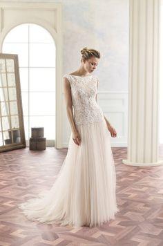 Trouwjurk Tripti Modeca - Honeymoon shop Lace Wedding Dress, Colored Wedding Dresses, Boutique Design, Vintage Style Dresses, Bridal Gowns, Vintage Fashion, Shopping, Collection, Wedding Alcohol