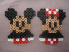 Classic Disney Couple by PerlerHime