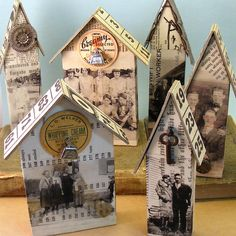 Crafty Houses - item shows no longer available from site...but love the ideas
