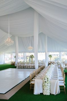 Have you been tasked with planning an outdoor wedding? Wedding tent is a common type of organization of the outdoor wedding space. Tent Reception, Wedding Receptions, Reception Decorations, Wedding Themes, Wedding Colors, Reception Ideas, Wedding Flowers, Wedding Reception Dresses, White Wedding Decorations