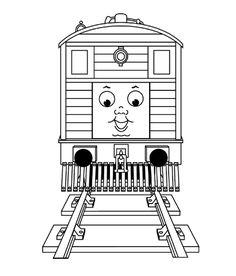 Thomas The Train Face Printables