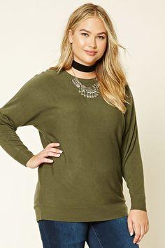 Plus Size Dolman Sweater