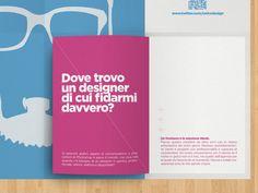 Self-promotional leaflet