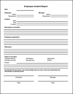 Employee Personal Information Form Template | Hardsell | Pinterest ...