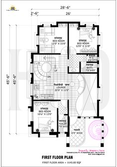 35 x 70 West Facing Home Plan   Small Home Plans   Pinterest   House Kerala Home Designs Floor Pl E A on