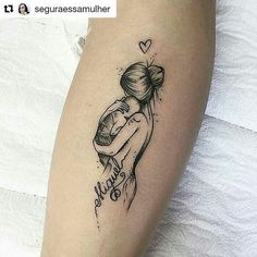 tattoos for daughters / tattoos for women ` tattoos for women small ` tattoos for moms with kids ` tattoos for guys ` tattoos for women meaningful ` tattoos with meaning ` tattoos for daughters ` tattoos on black women Mutterschaft Tattoos, Mommy Tattoos, Baby Tattoos, Future Tattoos, Body Art Tattoos, Small Tattoos, Tattos, Beste Tattoos, Cool Girl Tattoos