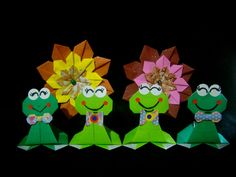 Origami Maniacs For Children 1: Standing Frog/ Ranita de Pie