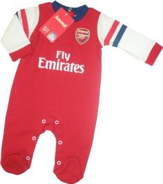 03c9f1c89 Arsenal Baby Sleepsuit 2012-13 by Brecrest.  19.79. The Arsenal Baby  Sleepsuit 2012