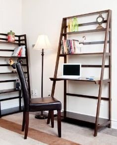 Winsome Bailey Leaning Desk With Shelves Http Epochjournal Org