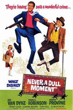 """Walt Disney's """"Never a Dull Moment"""" (1968) - the bottom part would make a great site footer."""