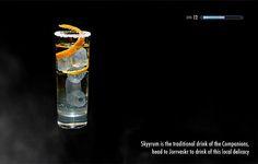 Elderflower Scrolls: The Skyrim Cocktail