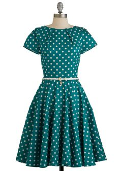 Making your own luck is easy in this dotted darling!