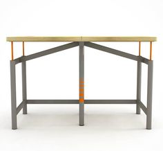 Earthquake-Ready Desk – An ultra-strong table in case of earthquake   Ufunk.net