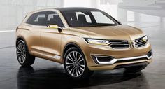 Carscoops: New Lincoln MKX Concept is Only a Couple of Steps ...