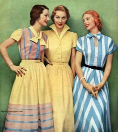 Dresses by Betty Barclay 1951