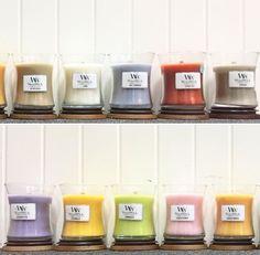 Des couleurs divines pour des parfums divins! Êtes vous aussi mordus de bougies que nous?! ☺️😊💕 (📷 @peppertrees4) ・・・ #springscents #woodwick #cracklesasitburns #bougie #bougieaddict #mordu #collection #fragrance #color #colorful #rainbow #licorne #arcenciel #lovecolor #tendance #design