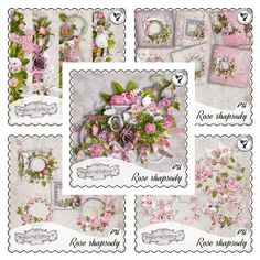Rose rhapsody - Full Pack by Black Lady Designs