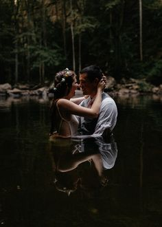 Incredibly Intimate Waterfall Elopement at Cloudland Canyon State Park Junebug Weddings is part of Waterfall wedding This incredibly intimate elopement at Cloudland Canyon State Park features gorg - Pre Wedding Photoshoot, Wedding Shoot, Wedding Pictures, Dream Wedding, Elopement Wedding, Forest Wedding, Wedding Ceremony, Wedding Dresses, State Parks