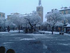 Plaza Mayor nevada
