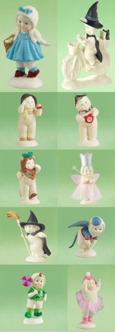 Snowbabies Wizard of Oz