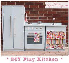 DIY Play Kitchen // @Jessie @ Cape 27