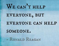 Check out this great quote from Ronald Reagan. What can you do this festive season to help someone.  Contact Us: 367 High Street,  London Colney, St. Albans,  Hertforshire,  AL2 1EA