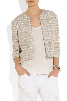 Theyskens' Theory|Jutie tweed jacket