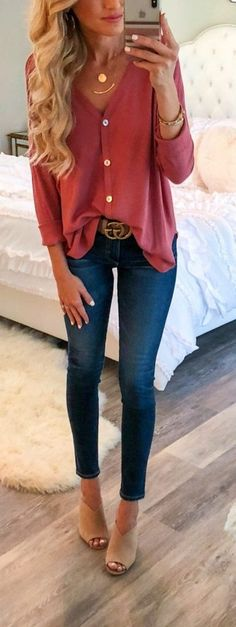 45 Fashionable Fall Outfits To Copy Immediately / 26 #Fall #Outfits