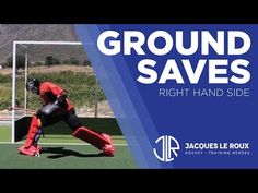 Field Hockey Goalie - Part 1: Ground Saves to the Right - YouTube