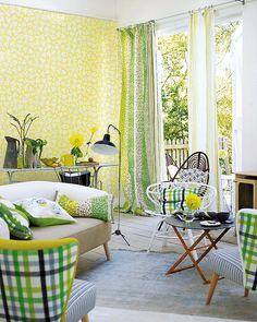 El amarillo/verde.