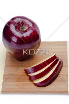 fruit slices - Close shot of fruit on a cuttign board.