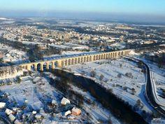 wiadukt kolejowy w Bolesławcu, ukończony w 1846 roku