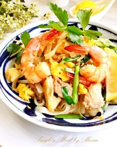 タイ料理*本格派パッタイ(タイ焼きそば)