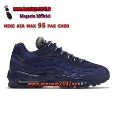 factory price 91d87 731a3 Boutique Nike Air Max 95 Essential Chaussures De Nike Pas Cher Pour Homme  Bleu Beige Gris
