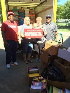 2016 great Flood ... waco and surrounding areas gathered school supplies for denham springs Lousisiana Led by Shirley Batson and Phyllis Shows