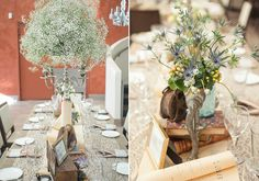 Eclectic vintage reception decor | photo by 13:13 Photograph | 100 Layer Cake
