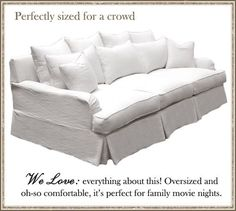 oversize sofa - Google Search