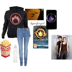 """""""#Divergent"""" by legionfangirl on Polyvore"""