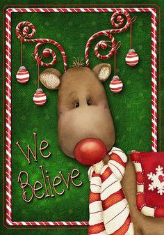 Funny reindeer 1