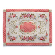 12th scale Juliette Rug kit in fine petite point