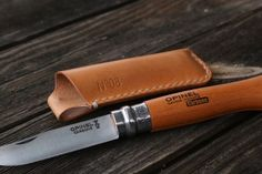 Handmade leathes sheath for your favourite Opinel. | eBay!