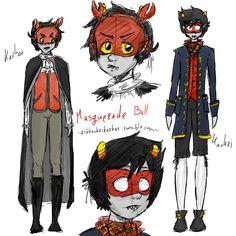 Masqueradestuck by SparkleDora