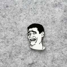 Yao Meme Enamel Pin Lapel Pin